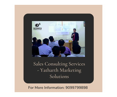 Sales Consulting Services - Yatharth Marketing Solutions