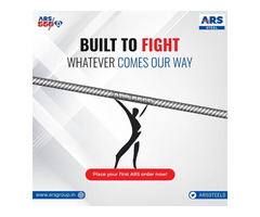 Built To Fight Whatever Comes Our Way - ARS Steel