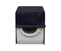 Lithara Navyblue Washing Machine Cover for Front Load Samsun...