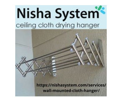 Buy Wall Mounted Cloth Hanger in India - Nisha System