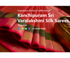 End of Reason Sale - Kanchipuram Sri Varalakshmi Silk Sarees