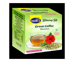 Buy Green Coffee, Green Tea with Lemon, Mint, Hibiscus Flavour - VGM Healthcare