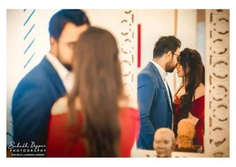 Hire best photographers for your pre-wedding photoshoot in Delhi