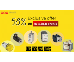 Exclusive 58% OFF on Electrical Spares!