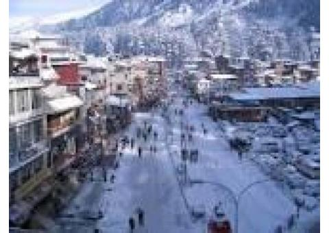3Nights /4Days Manali Package(starting from 7000/-P/P)