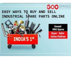 Want to sell or buy industry spare parts online