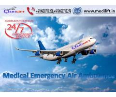 Use Superior Medilift Air Ambulance Service in Ranchi with D...