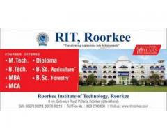 RIT Roorkee Most Promising Institutein Uttarakhand,India