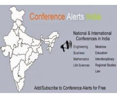 Upcoming Conference Alerts