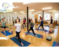 Yoga Classes in Udaipur Healthline Fitness Studio