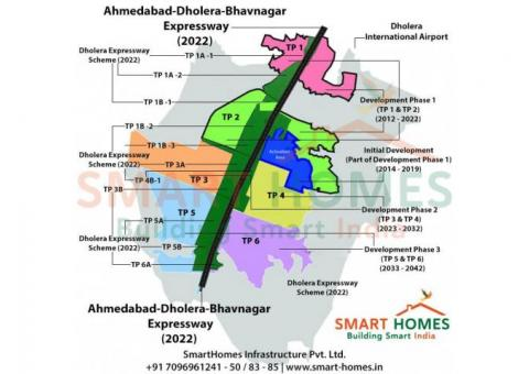 Dholera Smart City Affordable Residential Plots In Dholera SIR