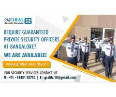 Security Services in Bangalore, Call: +91 9845158750