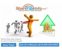 Indian Share Market Tips Provider for Stocks and Commodity- ...