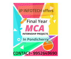 MCA Final Year Projects in Pondicherry