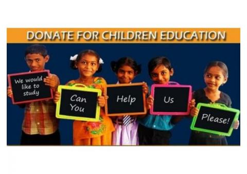 Donation for Child Education | NGO Working for Child Education