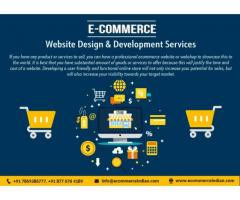 Ecommerce web design and development company INDIA