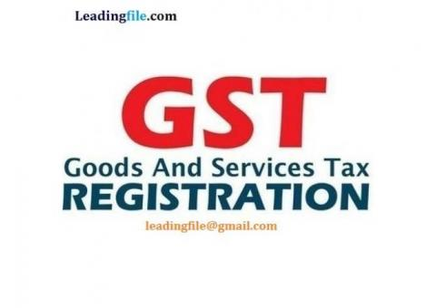 GST Registration Service By Expert at Lowest price