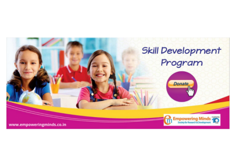 Donate for Skill Development Program, Skill Development NGO
