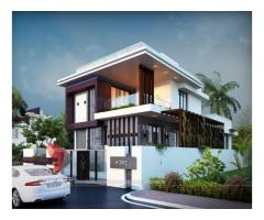 Remarkable 3D Bungalow Elevation Designing From One Of The T...