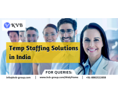 Temp Staffing Solutions in India, Temporary Staffing Service...