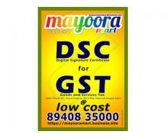 Digital Signature Cetificate Provider in Madurai by Mayoora ...