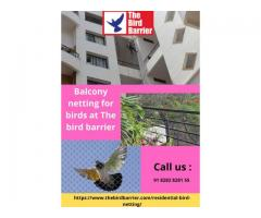 Online best balcony netting at The Bird barrier