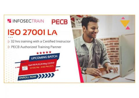 ISO27001 LA online training