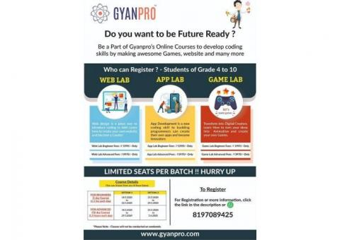 Online coding classes for kids by GYANPRO