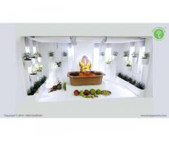 Top Ganpati decoration at home - TreeGanesha.com