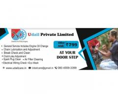 Udail Pvt Ltd bike service