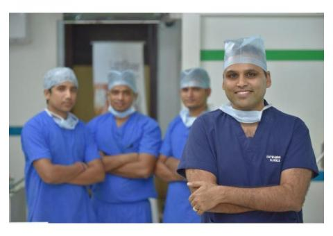 Best hairline transplant clinics in india at Outbloom clinics