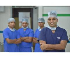 Best hairline transplant clinics in india at Outbloom clinic...