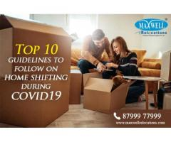 Top 10 Guidelines to Follow on Home Shifting During COVID 19