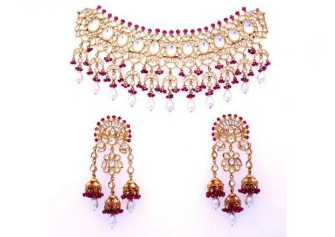 Kundan Jewellery in Chandigarh