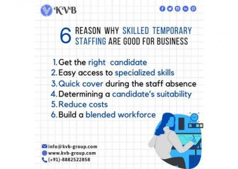 Manpower Staffing Solutions Provider in India, Temporary Staffing Company in India