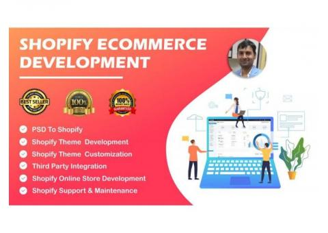 Best Shopify Expert Service Provider Firm in India | PTI WebTech