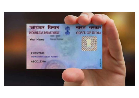PAN CARD NEW AND CORRECTION