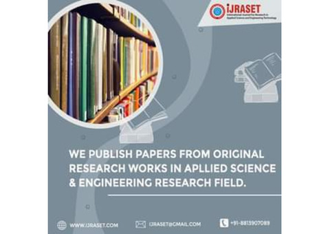 International Journal for Research in Applied Science and Engineering Technology (ijraset)