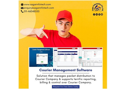 Courier Tracking Software, Courier Software Demo