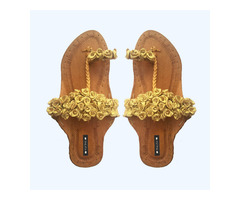 Purely Lush | Buy Handcrafted Ladies Juttis & Kolhapuri ...