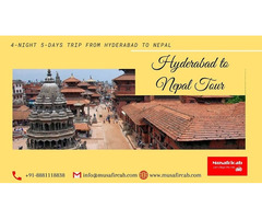 Hyderabad to Nepal Tour Package, Nepal Tour from Hyderabad
