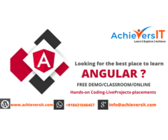 Best Place To Learn Angular In Bangalore.AchieversIT is one ...
