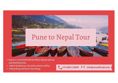 Pune to Nepal Tour Package, Nepal Tour Package from Pune